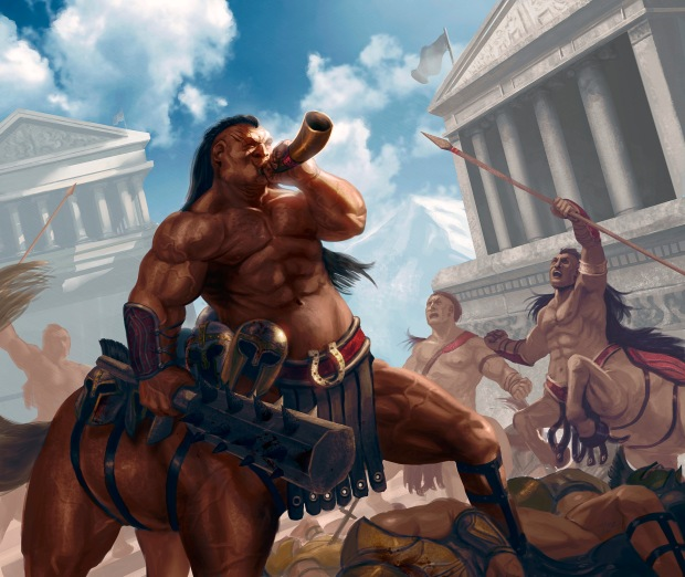 centaur's strength